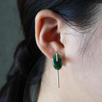 Line / Pierced Earrings    Jade  (single)  ピアス