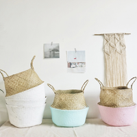 straw basket 【M】
