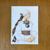 エストニア民族衣装ポストカード【OTEPÄÄ】