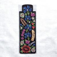 ムフ刺繍柄ブックマーク*花柄