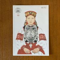 エストニア民族衣装ポストカード【SETU】