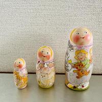 イリーナ・ヴァトゥルーシキナ作マトリョーシカ【子守唄】