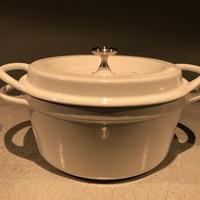 <VERMICULAR>Oven Pot Round #18 【パールホワイト】【マットブラック】