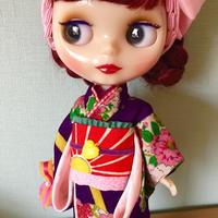 着物セット●紫苑ちゃん