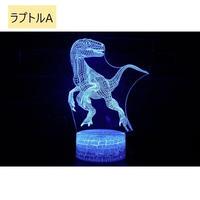 ジュラシックワールド ブルー ティラノサウルス 7色イルミネーション USB 519