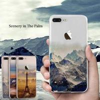 iphoneケース 世界の絶景 シリコンソフトケース 298