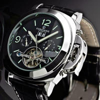 腕時計 FORSINING メンズ ウォッチ トゥールビヨン  411