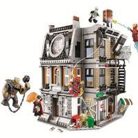 レゴ 互換 アベンジャーズ インフィニティウォー スパイダーマン ビルディング 265