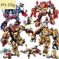 レゴ 互換 アベンジャーズ アイアンマン ロボット 365