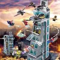 レゴ 互換 アベンジャーズ インフィニティウォー タワー アイアンマン 847