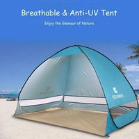 テント キャンプテント ビーチテント 2人用 日焼け防止 346