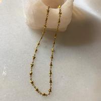 gold star choker necklace