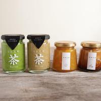 【ギフトボックス】ちわたや茶バターと季節のジャム詰め合わせ(4本入り)