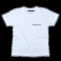 CHOCOLATE キッズTシャツ White