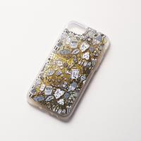 Chocomoo EXHIBITION iPhoneケース グリッター / ゴールド