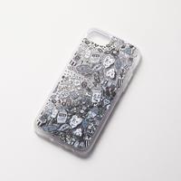 Chocomoo EXHIBITION iPhoneケース グリッター / シルバー