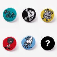 Chocomoo EXHIBITION 缶バッジ(ランダム5種&シークレット1種)