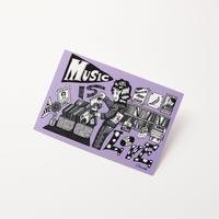 Chocomoo EXHIBITION ポストカードC