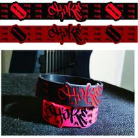 Rubber band(Razor) Balck and Red 2Pieces SET