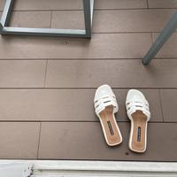 line mesh flat sandal(予約)