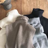 turtle knit vest(即納)