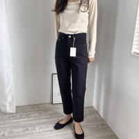 deondo standard black jeans(予約)