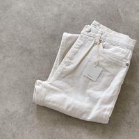 platbase light cream jeans(即納)