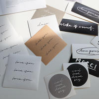 calligraphy sticker pack(即納)