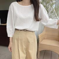 platbase honey blouse(即納)