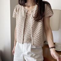 platbase bucket knit set up即納)