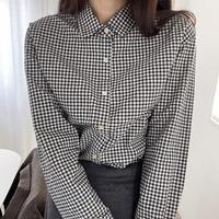 VEGETABLE mos check shirts(予約)