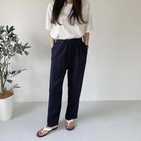 VEGETABLE linen banding pants(即納)