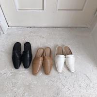 basic mule loafer(即納)
