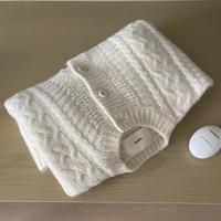 VEGETABLE wool twist cardigan(即納)