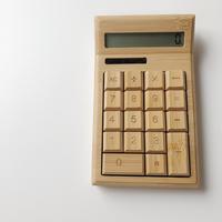 木製 計算機(即納)