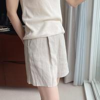bas standard linen short pants(即納 S)