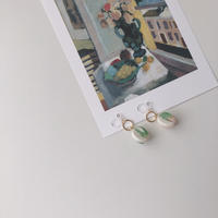 circle combi earring