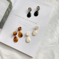 marble drop swing earring