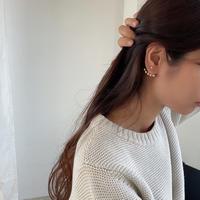 ball wrap earrings