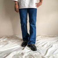 Vintage 1980's Levi's 517 orange tab denim pants made in USA