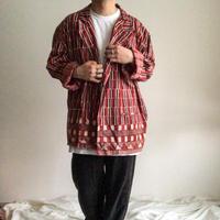 Vintage 1970's~ india cotton double tailored jacket