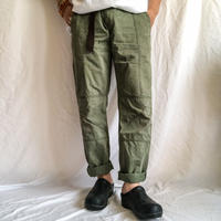 """MARC BY MARC JACOBS"" military design patchwork skinny pants"