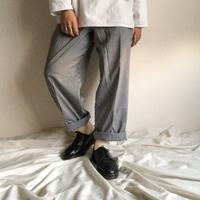 Dead Stock! old gingham check cock pants