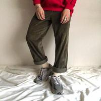 1990's~ HAGGAR brown corduroy pants