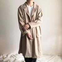 1990's~ super bigsize beige chester coat