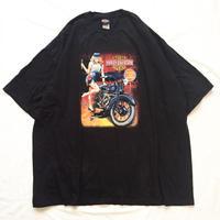 ビッグサイズ♪ USA製 HARLEY DAVIDSON ハーレーダビッドソン 両面プリントTシャツ / 古着 ビンテージ