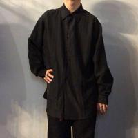 1990's~ ブラック デザイン シャツ / 古着 ビンテージ