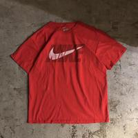 NIKE ナイキ スウォッシュロゴ プリント 半袖Tシャツ /  古着 ビンテージ