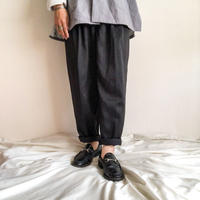 1980's~1990's western design black tapered slacks