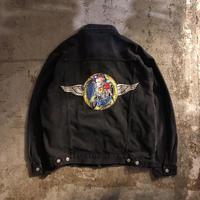 1990's~ BETTY BOOP ブラックデニム ジャケット / 古着 ビンテージ